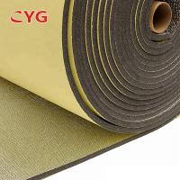 China Self Adhesive Construction Heat Insulation Foam With Aluminium Foil One Side wholesale