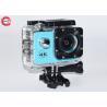 China Blue Full HD Sport Camera Waterproof 4k wholesale