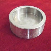 China ASTM A403 WP321H Sch80 ASME B16.9 Butt Welding Stainless Steel Pipe Cap wholesale