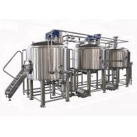 China Semi Auto / Manual Control 15BBL Large Beer Brewing Equipment Electric Heating wholesale
