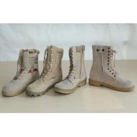 China High Quality Military Leather Desert Military Boots wholesale