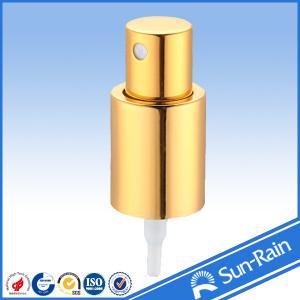 China Cosmetics Gold Fine Mist Sprayer for Plastic Bottle 20/415 24/415 wholesale
