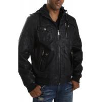 China 2012 mens casual leather single face jacket on sale