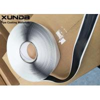 China Butyl Rubber Filler Pipe Protection Tape 3 / 8 Round 15 Feet Long Black Or Gray Color wholesale