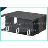 China ultra alojamento da tala do metal do núcleo do painel de remendo 288 da fibra ótica do LC do duplex 4U wholesale