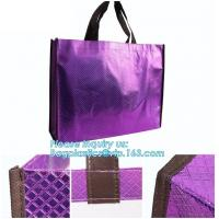 China Shopping printing fabric insulated foldable bag, custom pp non woven bag tote bag, Wholesale Clothe Storage Non Woven Ba wholesale