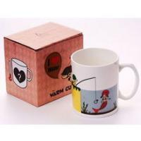 the change colors mug printing magic fishing MAGIC MUG 11OZ mug