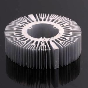 China Factory Profile Round Heat Sink , Extruded Aluminium Heat Sinks Good Anticorrosive wholesale