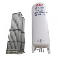 cryogenic oxygen storage tank for industrial gas equipment system