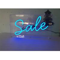 China Advertising Display LED Neon Signs Decorative Acrylic LED Neon Light Letters wholesale