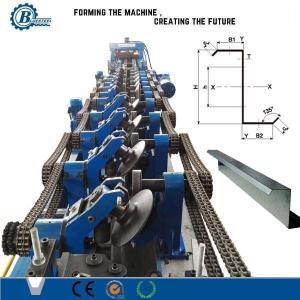 China C Z Profile / Metal Steel Purlin Roll Forming Machine Mitsubishi Controller wholesale