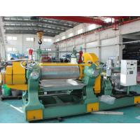 China Naturel Rubber Manufacturing Equipment , High Performance Rubber Mixing Mill Machine on sale