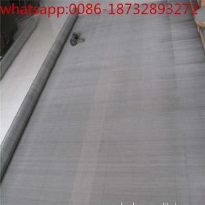 China fine pure titanium (ti) micro wire mesh for electrode/ firm anti-corrosive titanium filtering mesh wholesale