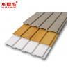 China PVC Garage Slatwall Panels Plastic Wall Cladding For Interior Dislay wholesale