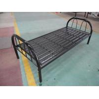 China 14kgs Metal Single Bed With 9 Strips,Cheap Metal Bed Frame Hot Sale for UAE DOHA wholesale