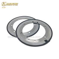 Buy cheap carbide round blade for slitting corrugated board paper 260*168.3*1.2 mm 8 holes from wholesalers