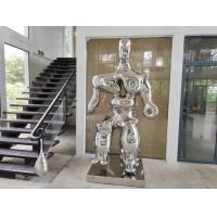China Mirror Polished Modern Stainless Steel large indoor sculptures on sale