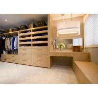 Buy cheap Modern Design Walk In Closet Wardrobe Plywood MDF Material Custom House from wholesalers