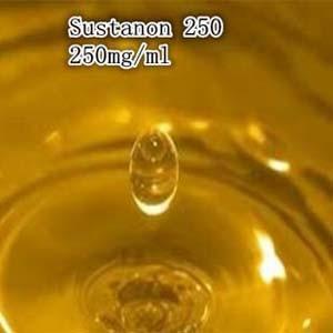 Matéria prima de Sustanon 250 do teste de Omnadren dos esteroides do crescimento do músculo leve - o líquido amarelo para o halterofilismo melhora