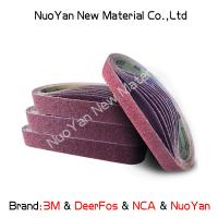 China Non Woven  Diamond Grit Sanding Belts  Nylon  Suitable For Producing Mat wholesale
