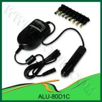 China 80W Universal Car Adapters for Laptops - ALU-80D1C wholesale