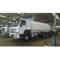 Buy cheap 8x4 HOWO Heavy Duty Chemical Liquid Tanker Truck 11990 × 2500 × 3563 Overall from wholesalers