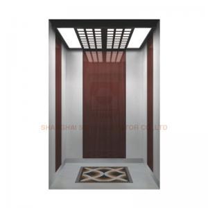 China Floor PVC / Hairline Stainless Steel Elevator Cabin Decoration Car Design For Passenger Elevator wholesale