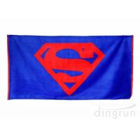 China Custom Reactive Printing Beach Towels Extra Large Beach Towel Cotton wholesale