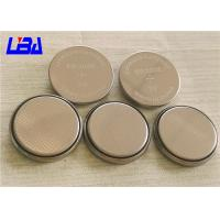 China 240mAh Standard Coin Cell Battery , Rechargeable 3v Cr2032 Battery on sale