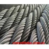 China steel wire rope, galvanized steel wrie rope, ungalvanized steel wire rope wholesale