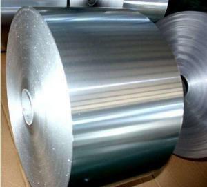 Quality Temper 1100 H18 Aluminium Decorative Foil , Silver Aluminium Foil Jumbo Roll for sale