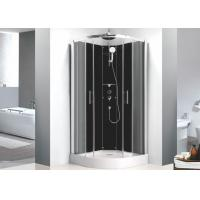Sector Free Standing Shower Stall 0.36 Volume , 900mm x 900mm Quadrant Shower Enclosure