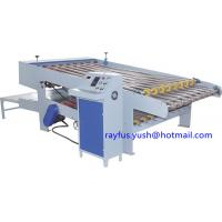 China Stacker for NC Computer-control Rotary Slitter Cutter, Corrugated Cardboard Slitting + Cutting wholesale