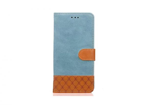Quality Plain Simple Custom Made Phone Cases Smooth Surface Flip Open Design for sale