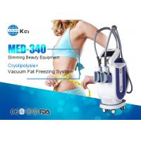 China 2 Handles Cryotherapy Fat Freezing Device For Weight Loss MED-340 Rapidly Slimming Machine wholesale