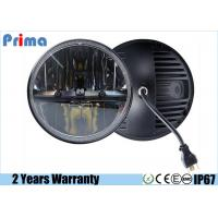 China 7 Inch Round Wrangler Led Headlight For Off Road Vehicle High Low Beam on sale