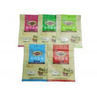 Custom Printed Snack Packaging Bags / Zipper Pouches For Packing Food Back seal bag