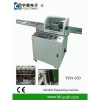China Multi -  blade v - cut PCB separator with computer screen control wholesale