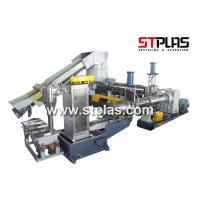 China Eco Friendly Plastic Recycling Pellet Machine With Single Screw Extruder on sale
