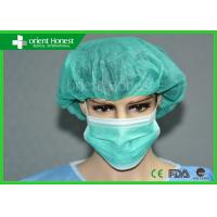China Sterile Disposable Surgical Bouffant Caps With Different Colors For Workplace on sale