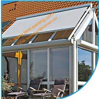 China Glass Room Motorized Romote Control Skylight  Conservatory Roof Awning wholesale