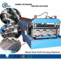 China Construction Metal Steel Floor Decking Roll Forming Machine For Africa Market wholesale