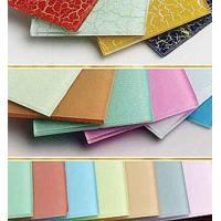 China Colorful Glazing Custom Tempered Glass Table Top For Coffee Table 1000mm*600mm wholesale