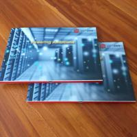 China Printing Video Booklet, Booklet With Smart buttons / video business card wholesale