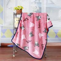 """China Anti Static Anti Pilling Dyed Cutting Flannel Beautiful Baby Blankets 30""""*40"""" wholesale"""