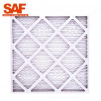China Primary MERV13 Pre Filter Air Filter 40 , G4 Panel Cardboard Frame Furnace Filter wholesale