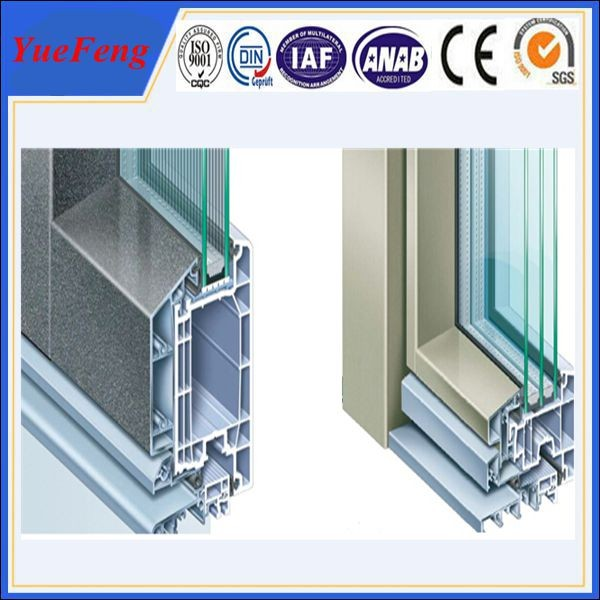 Aluminum profile window tempered glass images for Aluminum window manufacturers