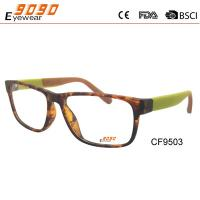 Buy cheap Fashionable CP optical frame,special metal hinge,demi color on the frame,suitable for men and women from wholesalers