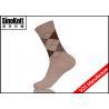 China Argyle Crew Fashion Men Dress Socks / OEM Custom Combed Cotton Suit Socks wholesale