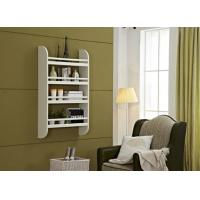 China Floating Wall Wood Display Rack Shelves For Living Room 4 Shelf Storage Stand wholesale